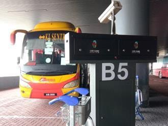 乘搭 Aerobus bus 到云顶高原