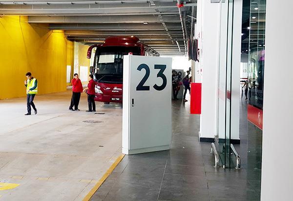 阿娃娜巴士总站抵达月台