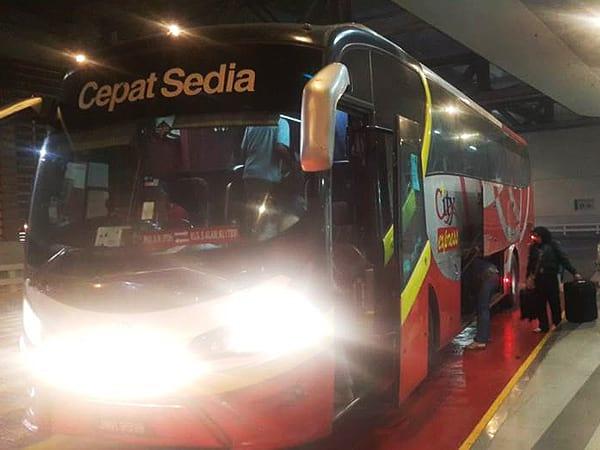 巴士登车月台