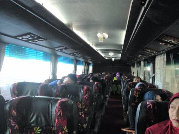 Perdana Express 巴士座位