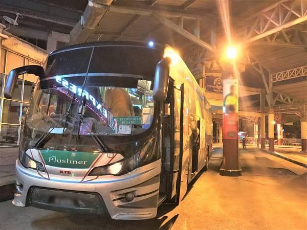 Plusliner 巴士 - Plusliner 从瓜拉玻璃市通往北海的巴士服务