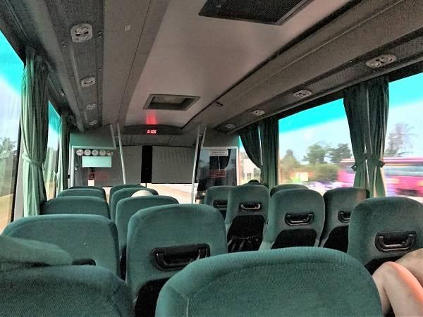 Plusliner 巴士座位