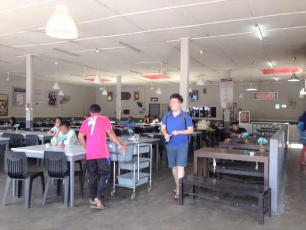Perdana Express 巴士站内的餐馆
