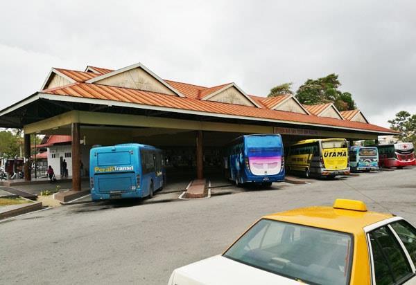 斯里曼绒巴士站