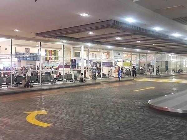南湖镇交通综合终站的主要入口