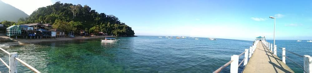 刁曼岛的景色