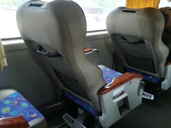Sepakat Liner 的可调整式座椅