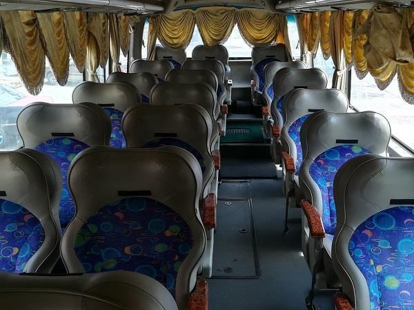 Sepakat Liner 巴士内部