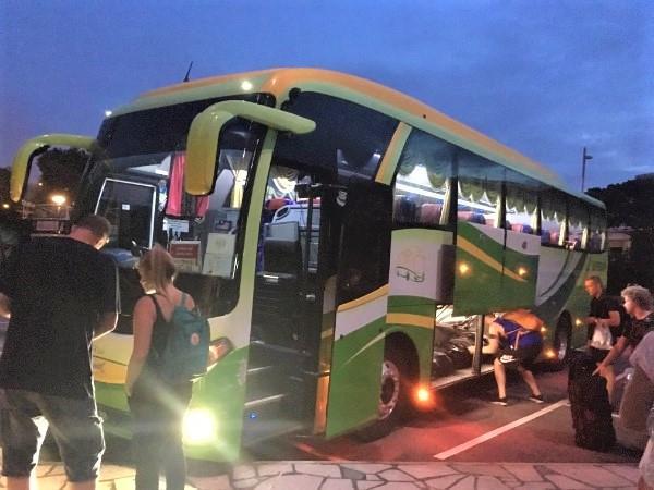 从新加坡到刁曼岛的巴士