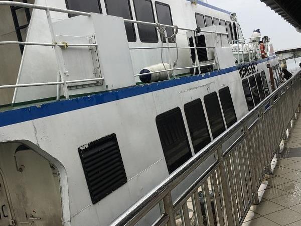 从达丹戎格姆到刁曼岛的渡船