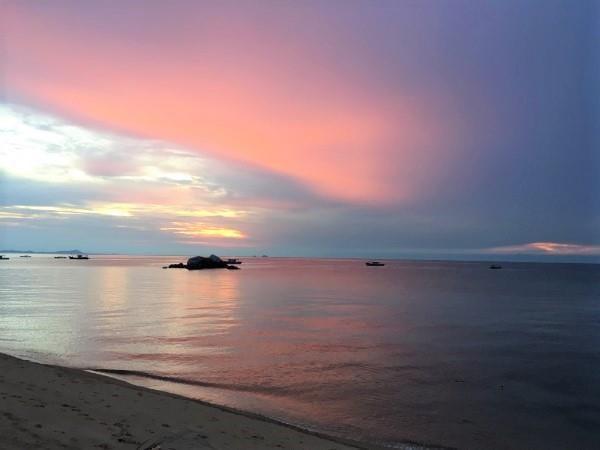 刁曼岛的日落