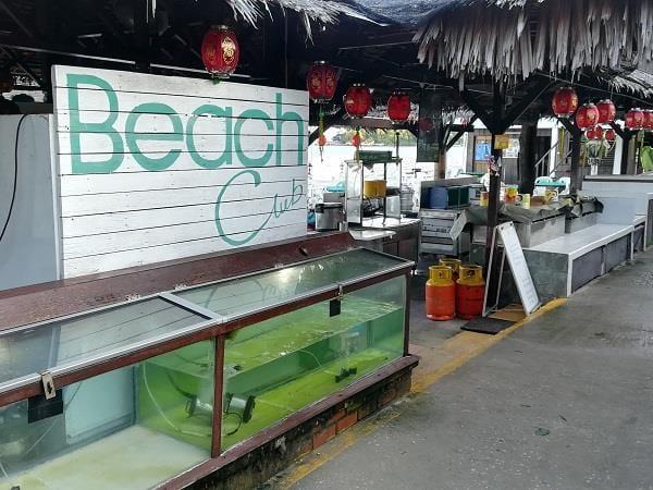 芭雅海滩度假村的 Beach Club 餐厅