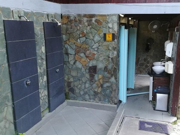 芭雅海滩度假村的公厕