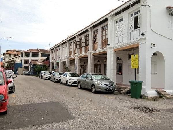 在槟城的历史建筑